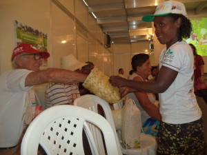Instalação pedagógica do Território Bico de Papagaio discute conflitos no campo