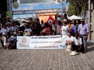 Mato Grosso presente no III Encontro Nacional de Agroecologia